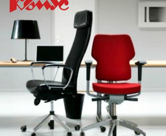 Комус стулья офисные