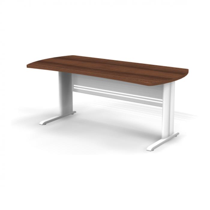 Стол симметричный на металлической опоре 180x85x74 Berlin