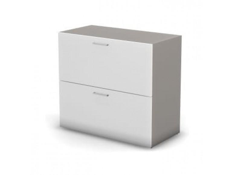 Модуль шкафа 2 уровня ДСП 89,8x44,8x81,4 Accord Director