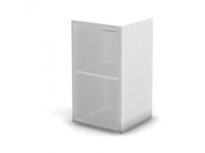 Модуль шкафа 2 уровня стекло матовое левый 45,1x43x81,4 Accord Director