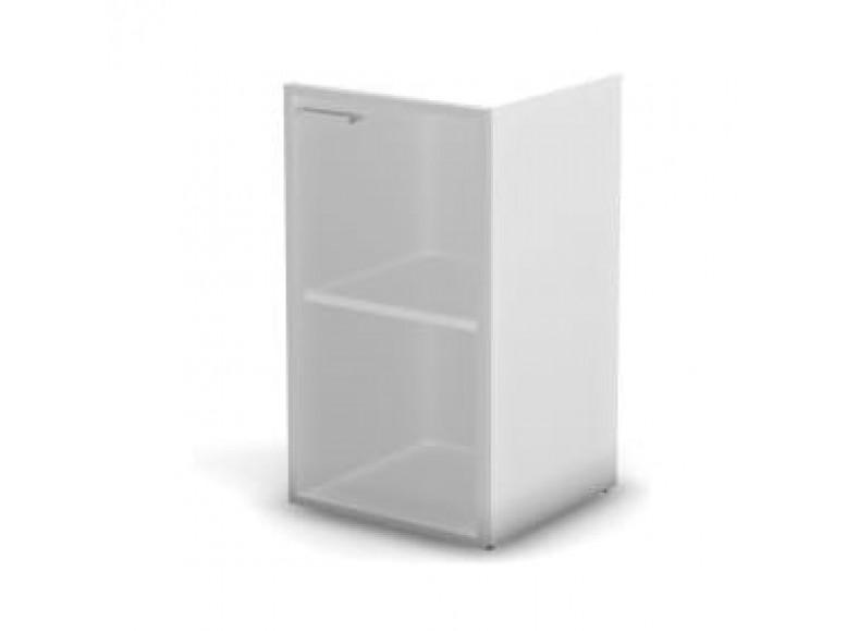 Модуль шкафа 2 уровня стекло матовое правый 45,1x43x81,4 Accord Director