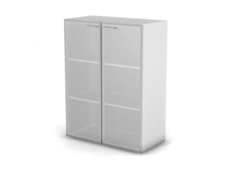 Модуль шкафа 3 уровня стекло матовое 198,2x89,8x43 Accord Director