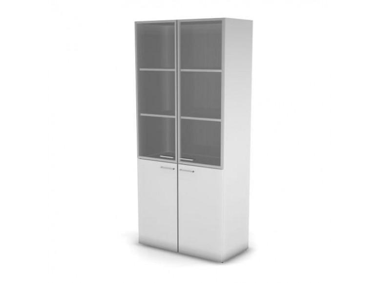 Модуль шкафа 5 уровней ДСП стекло 89,8x43x198,2 Accord Director