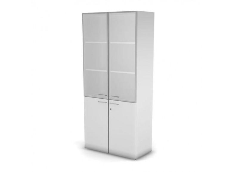 Модуль шкафа 5 уровней ДСП матовое стекло 89,8x43x198,2 Accord Director
