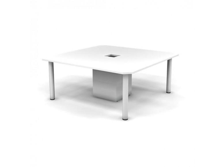 Конференц стол ДСП 25 мм 180x180x73,5 Accord Director