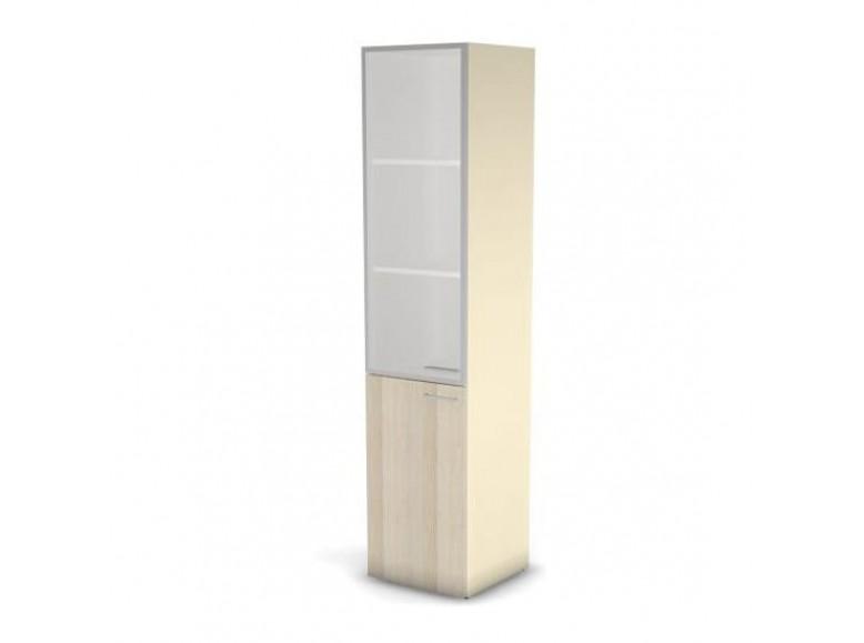 Модуль шкафа 5 уровней ДСП левый матовое стекло 45,1x44,8 49H0311001M Accord Director
