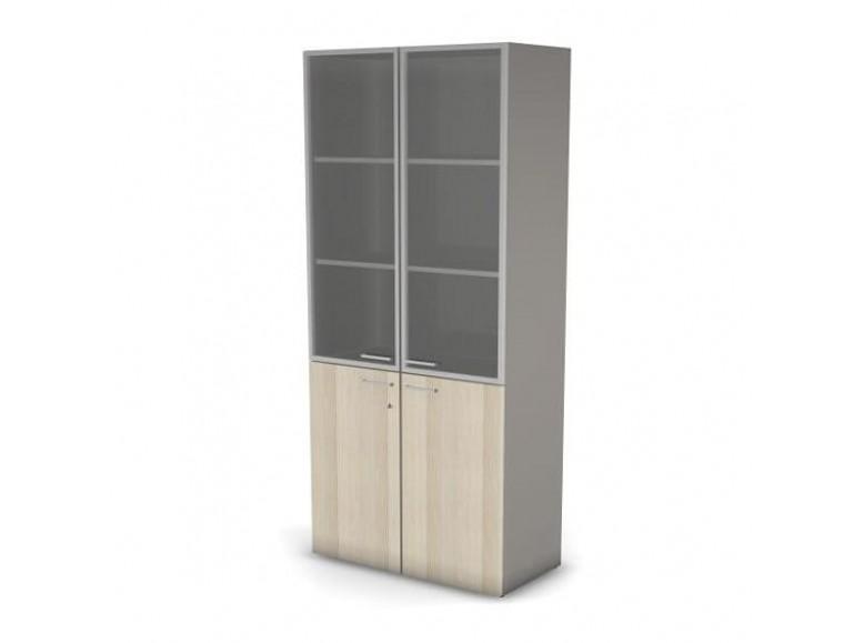 Модуль шкафа 5 уровней ДСП стекло 89,8x44,8x198,2 Accord Director