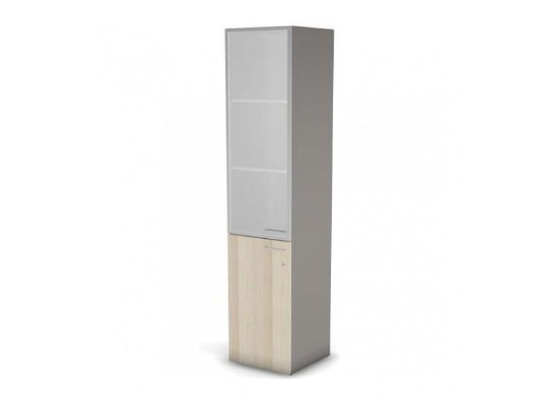 Модуль шкафа 5 уровней ДСП левый матовое стекло 45,1x44,8 49H0313011M Accord Director