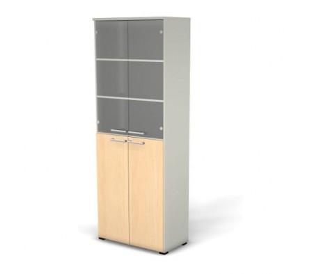 Модуль шкафа 6 уровней задняя стенка HDF прозрачное стекло 78,6x42x210,5 76H1050023ДС15 Smart