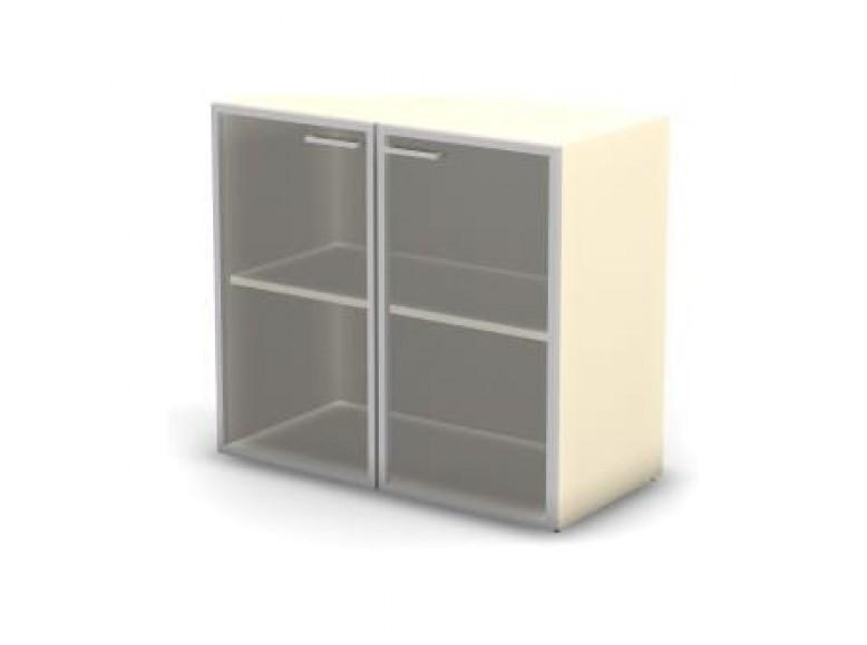 Модуль шкафа 2 уровня стекло 89,8x43x81,4 Accord Director