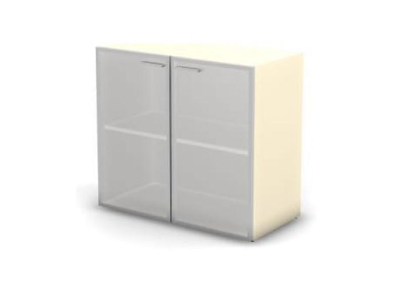 Модуль шкафа 2 уровня стекло матовое 89,8x43x81,4 Accord Director