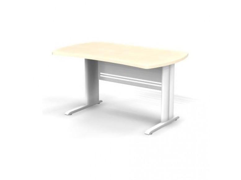 Стол симметричный на металлической опоре 140x85x74 Berlin
