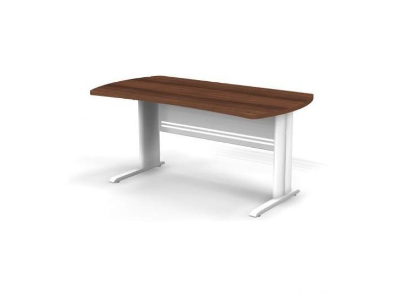 Стол симметричный на металлической опоре 160x85x74 Berlin