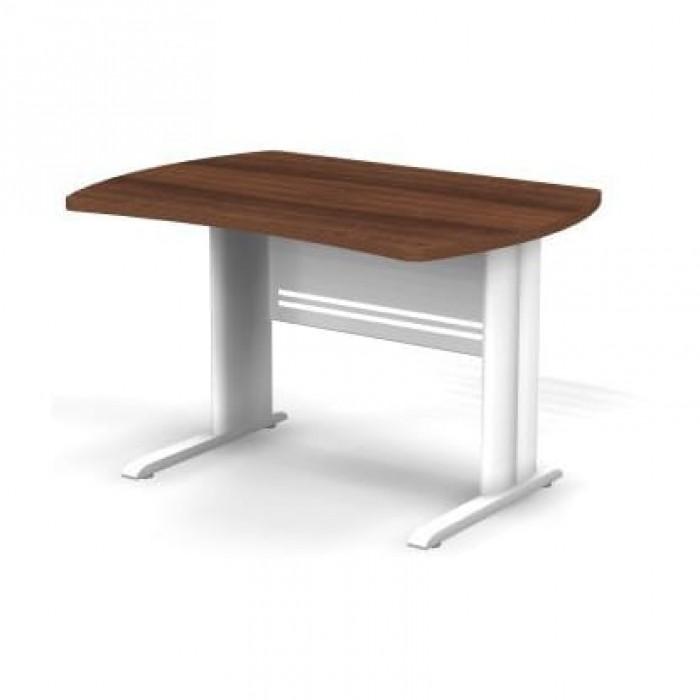 Стол симметричный на металлической опоре 120x85x74 Berlin