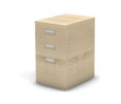 Тумба приставная 3 ящика 43,2x60x74,3 Europe