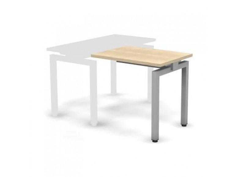 Стол приставной металлический 80x60x74,3 Europe
