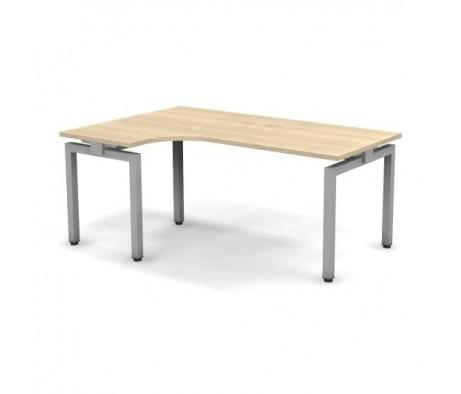 Стол эргономичный металлический левый 158x60x74,3 СПР16x08x06x12Л Europe