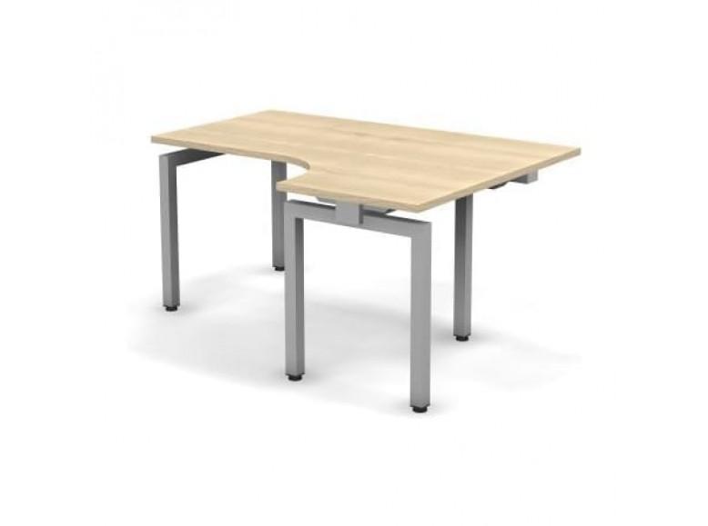 Стол эргономичный металлический правый 158x60x74,3 СПР16x08x06x12П Europe