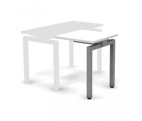 Стол приставной металлический 60x60x74,3 Europe