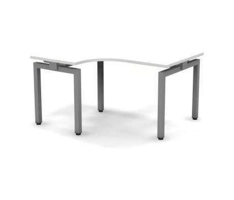 Стол эргономичный металлический левый 138x60x74,3 Europe