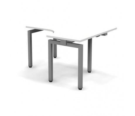 Стол эргономичный металлический правый 138x60x74,3 Europe