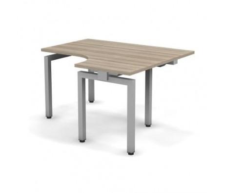 Стол эргономичный металлический 138x60x74,3 С14x08x06x12П Europe