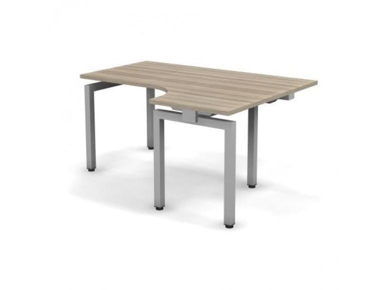 Стол эргономичный металлический правый 158x60x74,3 С16x08x06x12П Europe