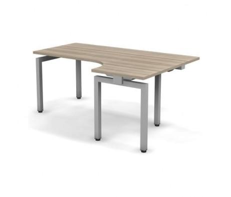 Стол эргономичный металлический правый 178x60x74,3 С18x08x06x12П Europe