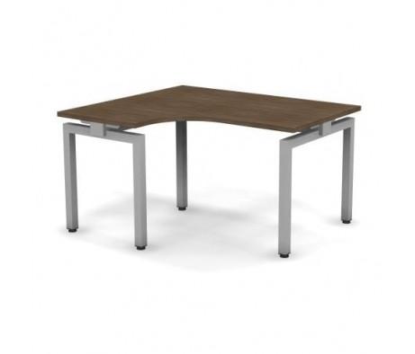Стол эргономичный металлический 138x60x74,3 С14x08x06x12Л Europe