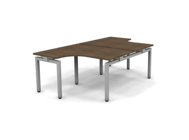 Стол эргономичный металлический 138x163x74,3 Europe