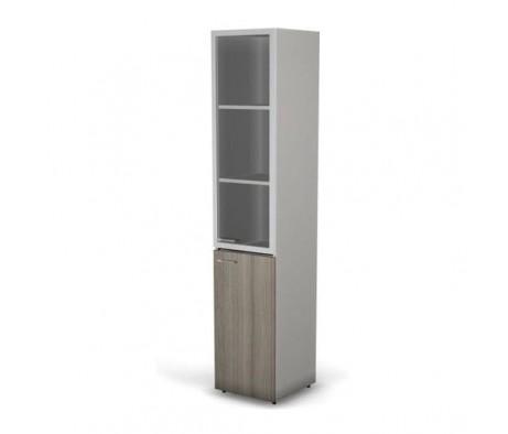 Шкаф 5 уровневый узкий комбинированный правый 39,9x42,5x196,5 Focus Director