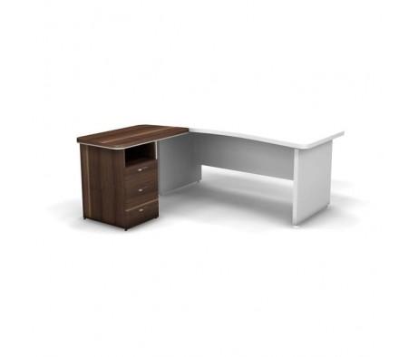 Тумба приставная левая для столов 101130 101140 100,1x55x76 Focus Director
