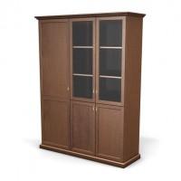 Шкаф витрина с гардеробом левый London