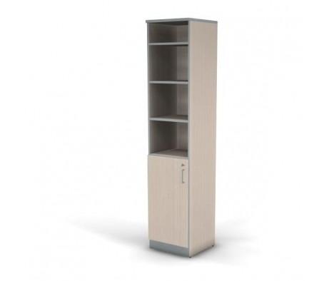 Шкаф стеллаж 5 уровней узкий 45x45x207 Practic Director