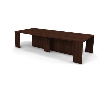 Конференц стол с 3 кабель каналами 320x125x75 Prego
