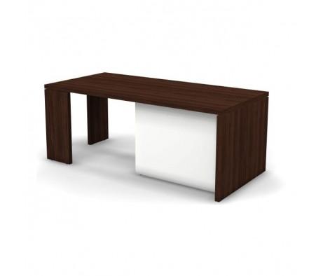 Стол руководителя левый 190x90x75 D268006 Prego