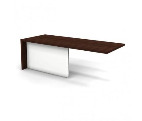 Модуль стола правый для опорных тумб 220x90x75 D268015 Prego