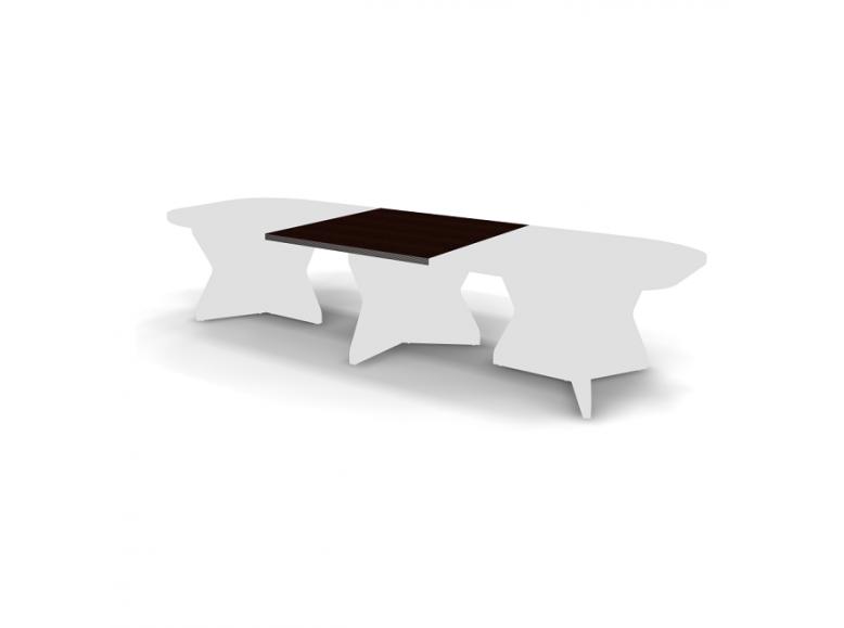 Элемент центральный конференц стола 120x120x3,8 Smart Director
