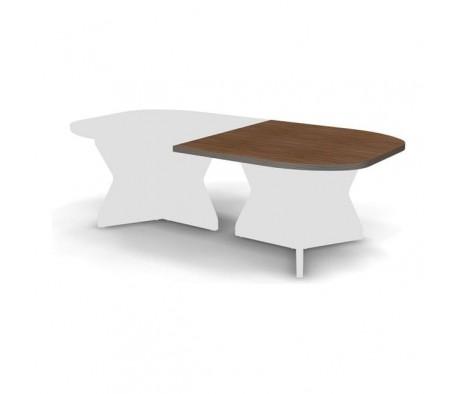 Элемент конечный конференц стола 120x120x3,8 Smart Director