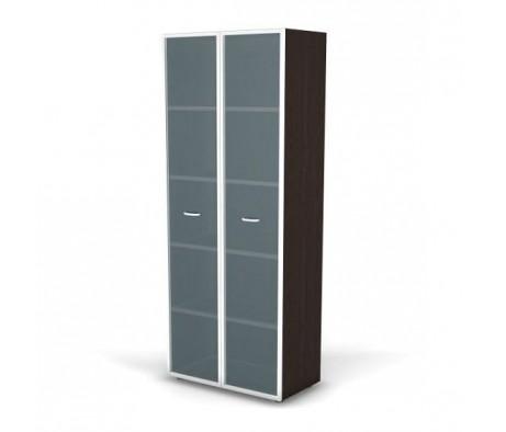 Модуль шкафа витрины 5 уровней стеклянные двери 80x42x202 Tango