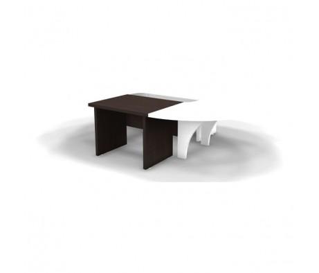 Центральный элемент конференц стола 100x80x73,5 СК910 Tango
