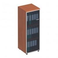 Шкаф для документов со стеклянной дверью левый ФС 314 Matrica