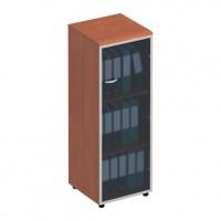 Шкаф для документов со стеклянной дверью правый ФС 315 Matrica