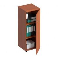 Шкаф для документов средний узкий закрытый ФС 765 Matrica