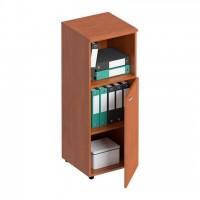 Шкаф для документов средний узкий полузакрытый ФС 766 Matrica