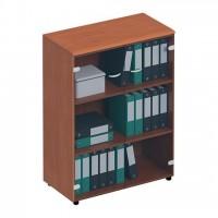 Шкаф для документов средний со стеклянными тонированными дверьми ФС 969 Matrica