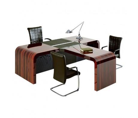 Стол с конференц приставкой 2600x2330x780 Dao