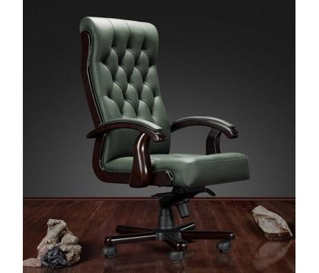 Кресло руководителя Боттичелли DB-13 (подлокотники с кожаной накладкой)
