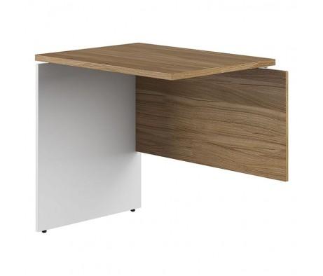 Приставной стол на ДСП опорах. Левый 80x60x75 Tess
