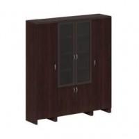 Шкаф для бумаг с гардеробом Wood